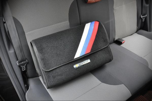 Сумка в багажник с флагом России