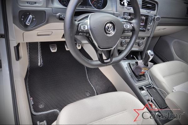 Провели фотосессию VW Golf VII