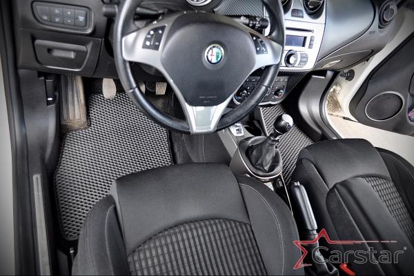 Запущен пошив ковриков для Alfa Romeo MiTo