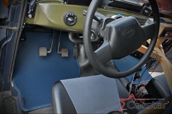 Запустили производство ковриков на УАЗ Хантер