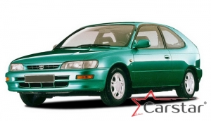 Toyota Corolla E100 VII пр.руль (1991-2002)